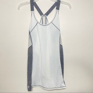 Athleta athletic breezy work out tank scoop neck